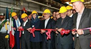 Danieli Steel Machinery Production in Iran